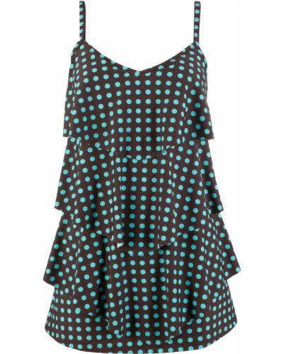 Платье в горошек купальное Bonprix