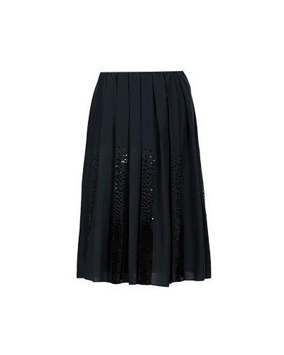 Юбка миди - черная Fabiana Filippi