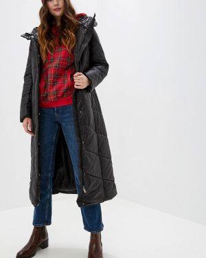 Зимняя куртка утепленная черная Baon