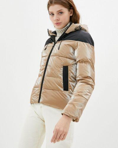 Бежевая утепленная куртка Z-design