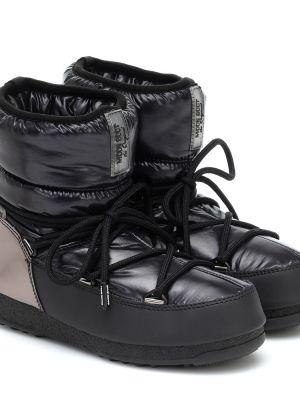 Ботильоны классические - черные Moon Boot