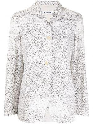 Песочный пиджак на пуговицах Jil Sander Pre-owned