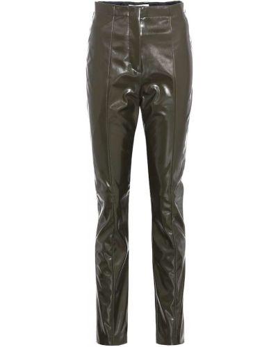 Брюки зеленый брюки-хулиганы Acne Studios