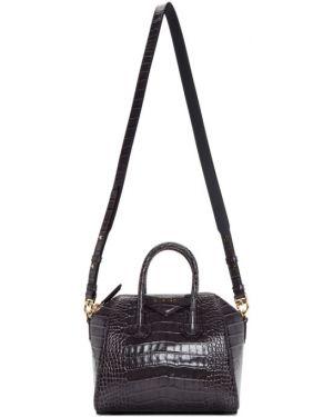 Топ кожаный с подкладкой Givenchy