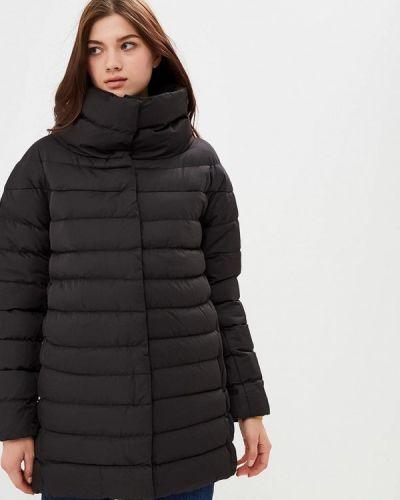 Утепленная куртка демисезонная черная Regular