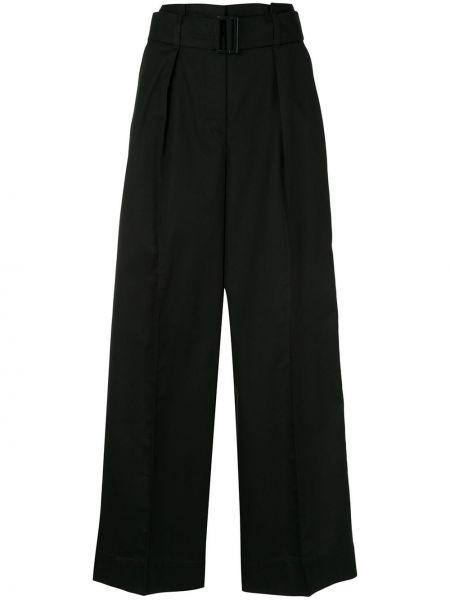 Черные свободные брюки с карманами свободного кроя Tomorrowland