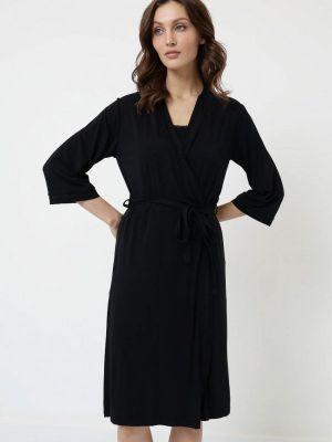 Пижамная черная пижама Luisa Moretti