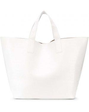 Кожаная сумка шоппер большая Studio Amelia