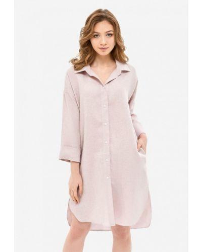 Платье весеннее розовое Morandi