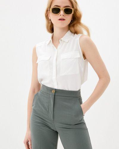 Белая блузка без рукавов Bruebeck
