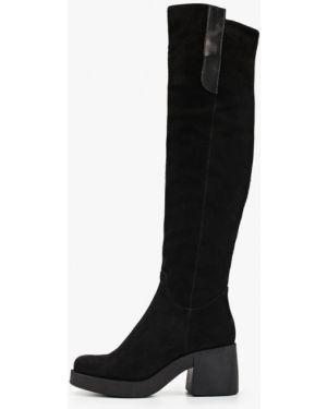 Ботинки на каблуке черные осенние Dolce Vita
