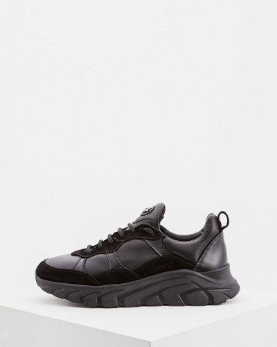 Черные кроссовки низкие John Richmond