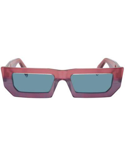 Czarne okulary srebrne Retrosuperfuture