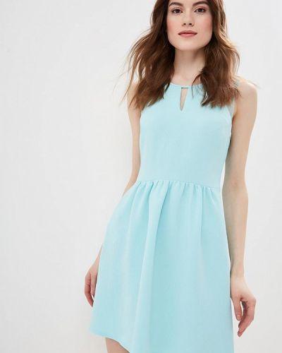 Платье бирюзовый весеннее Naf Naf