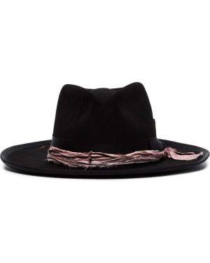 Фиолетовая шапка из кролика Nick Fouquet