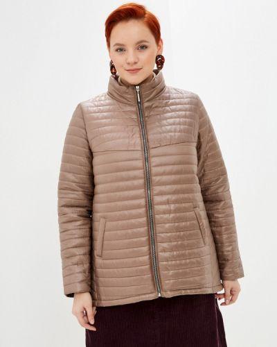 Утепленная куртка - коричневая очаровательная адель