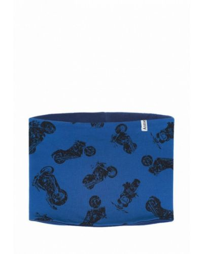 Синий шарф Anmerino
