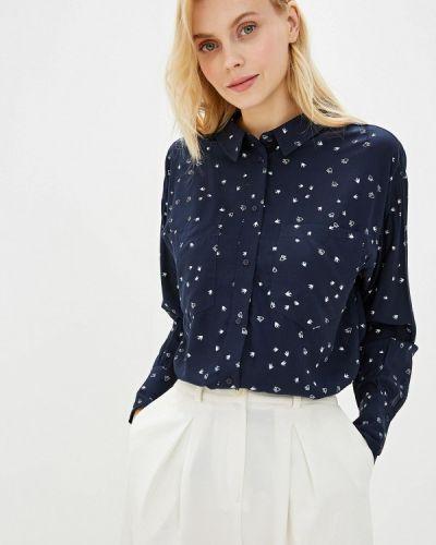 Рубашка с длинным рукавом синяя Sela