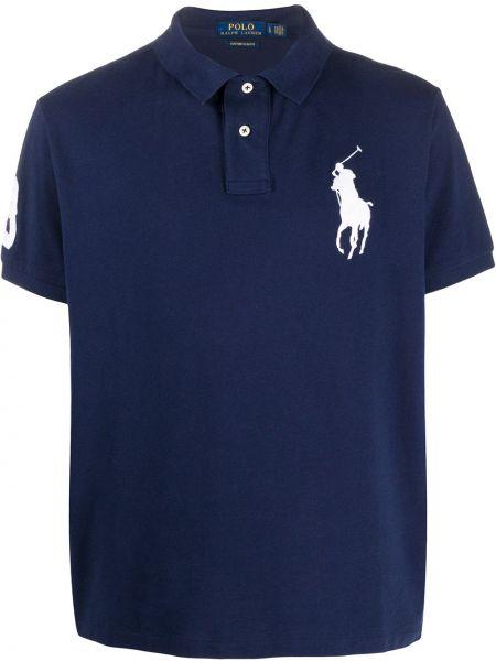 Koszula krótkie z krótkim rękawem klasyczna z kołnierzem Ralph Lauren