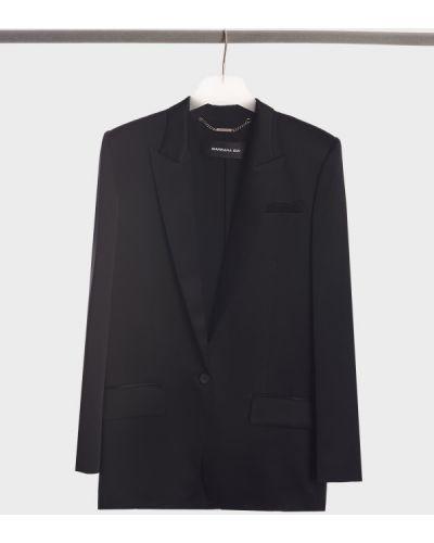 Шелковый пиджак - черный Barbara Bui