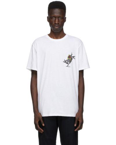 Bawełna czarny koszula krótkie rękawy z haftem Rag & Bone