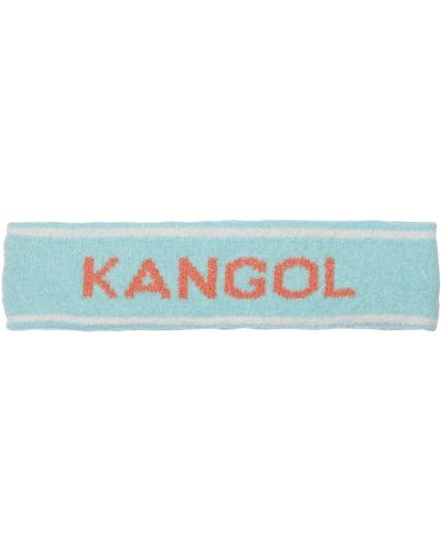 Мягкие синие бермуды с рисунком Kangol