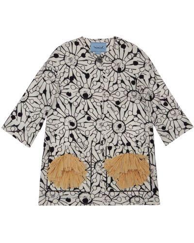 Хлопковая ватная куртка с накладными карманами Mi.mi.sol.