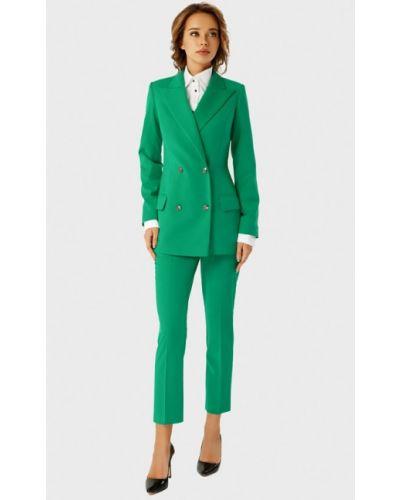 Брючный костюм зеленый Anushka By Anna Pavlova