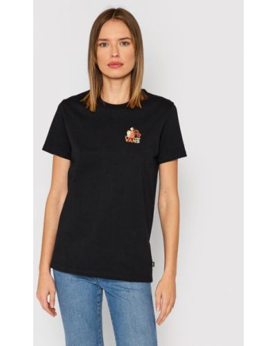 T-shirt - czarna Vans