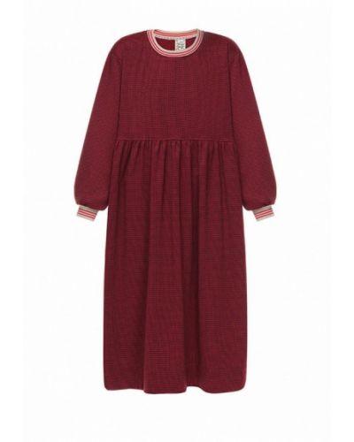 Повседневное красное платье I-am