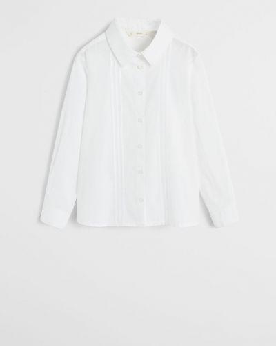 Блуза белая Mango Kids