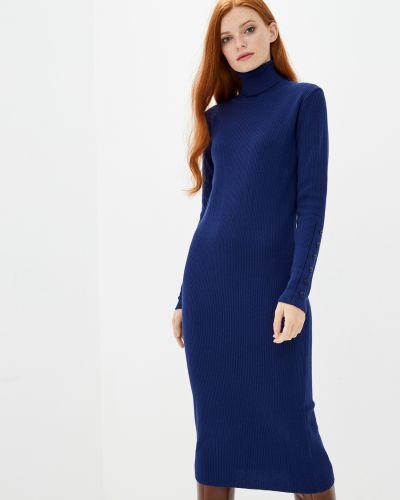Вязаное платье - синее Sewel
