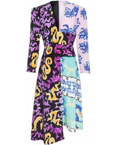 Фиолетовое платье Tata Naka