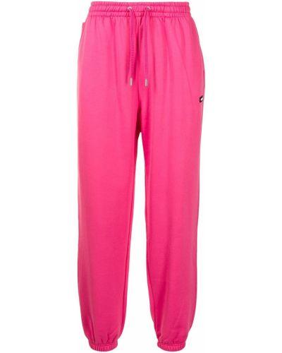 Розовые спортивные брюки из полиэстера Mackage