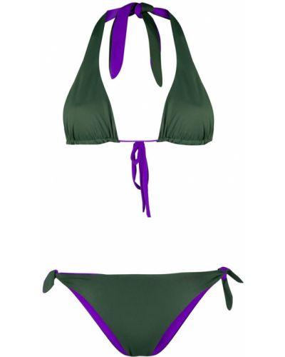Пляжные фиолетовые бикини с завязками эластичные Tara Matthews