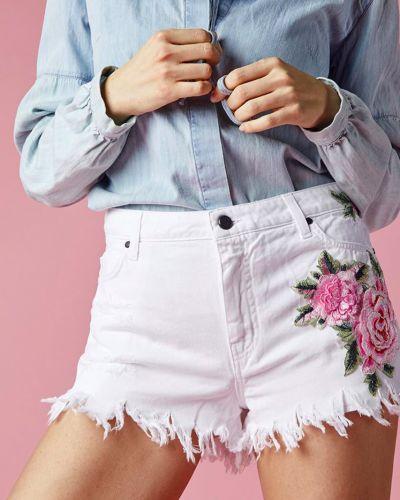 Белые шорты Up Jeans