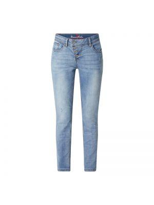 Niebieskie jeansy bawełniane Buena Vista