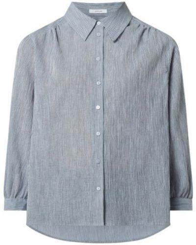Bluzka prążkowana - niebieska Opus