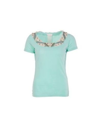 Голубая футболка Scervino Street