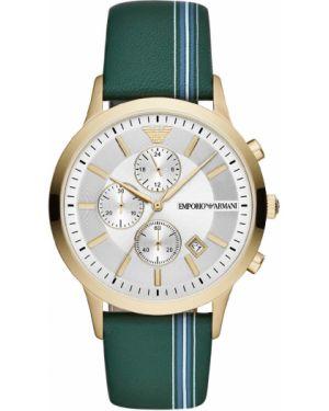 Zegarek zielony żółty Emporio Armani