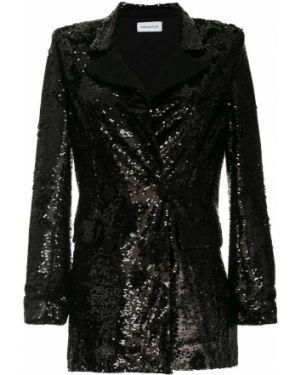 Черный пиджак с манжетами 16arlington