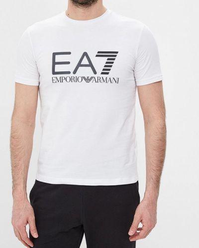 Футболка белая Ea7