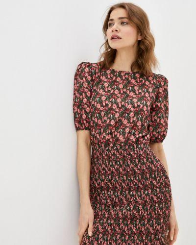 Разноцветное платье Trendyol