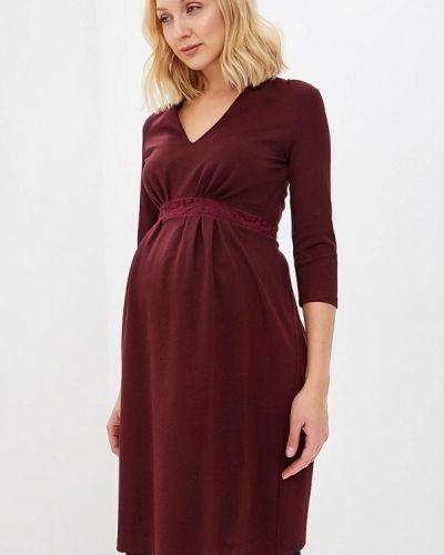 Платье прямое осеннее Mammysize