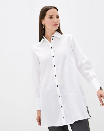 С рукавами белая рубашка Danmaralex