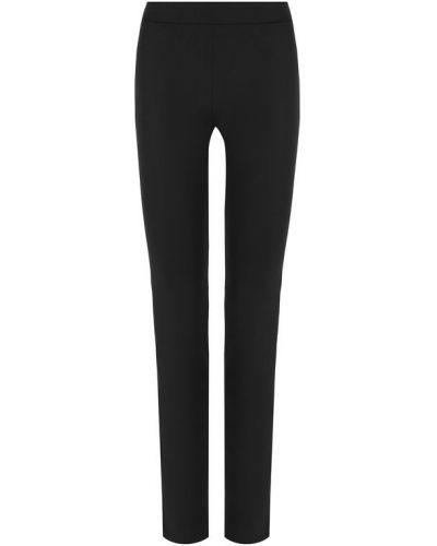 Зауженные брюки прямые льняные La Perla