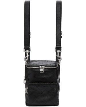 Кожаный рюкзак текстильный на молнии Mcq Alexander Mcqueen