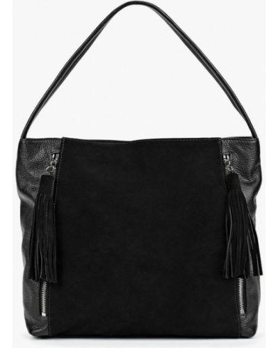 Кожаный сумка с ручками замшевая Fabretti