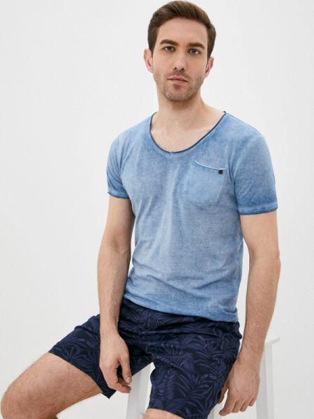 Синяя футболка Fresh Brand
