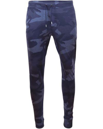 Niebieskie spodnie dresowe casual Ralph Lauren